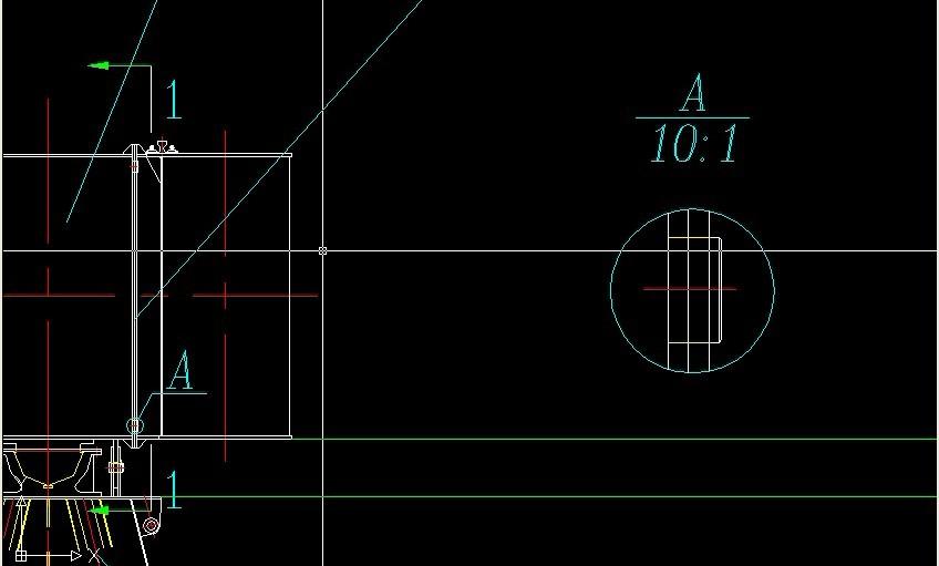 第三 绘制局部放大图 -CAD批量打印 CAD加密 免费下载 兼容开目CAD
